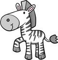 Zebra Vector Illustration Stock Images