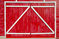 Zee Barn Doors Royalty Free Stock Photography