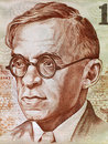 Zeev Jabotinsky Royalty Free Stock Images