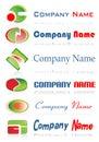 Zeichen, zum mit Ihrer Firma zu gehen   Stockbild