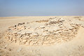 Zekreet fort ruins in qatar the middle east Stock Photography