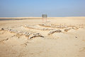 Zekreet fort ruins in qatar the middle east Royalty Free Stock Photography