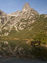 Zelene pleso with Jastrabia veza and other peaks