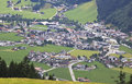 Zell am ziller in tyrol seen from rohrberg austri the market town is located the rear zillertal valley austrian at the junction of Stock Photography