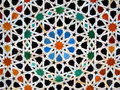 Zellige, moroccan mosaic tiles Royalty Free Stock Photo