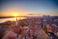 Zemun dawn.. Stock Photography