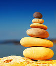 Zen balance Royalty Free Stock Images