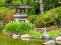 Zen Garden in Osaka Royalty Free Stock Photo