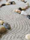 Zen garden path Stock Photography