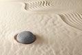Zen meditation garden spirituality and purity
