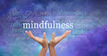 Zen Mindfulness Meditation Royalty Free Stock Photo