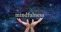 Zen Mindfulness Meditation Royalty Free Stock Photo