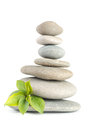 Zen pebbles balance spa and healthcare concept Stock Images