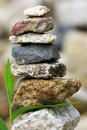 Zen Stones in balance Royalty Free Stock Photo