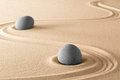 Zen stones purity harmony and balance Royalty Free Stock Photo