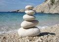 Zen Style Stones Royalty Free Stock Photo