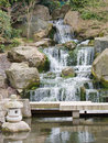 Zen Waterfall Stock Photography