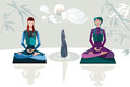 Zen Women Stock Photos