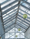 Zenith skylight Royalty Free Stock Images