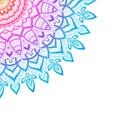 Zentangle background, wallpaper, texture, pattern. Round mandala, template for web design, postcards, flyer, poster