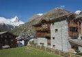 Zermatt switzerland and mountain matterhorn in Stock Photos