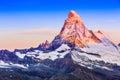 Zermatt, Switzerland. Royalty Free Stock Photo