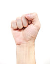 Zero hand symbol sign symbolize of the power or feeling against expression Royalty Free Stock Photo