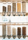 Zero waste shop. Plastic free grocery store Royalty Free Stock Photo