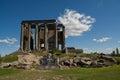 Zeus temple aizonai kutahya turkiet Fotografering för Bildbyråer