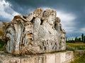 Zeus temple av aizanoi Royaltyfria Bilder