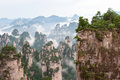 Zhangjiajie.Located in the wulingyuan scenic area