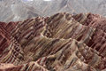 Zhangye Danxia Landform Royalty Free Stock Photo