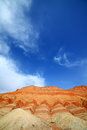 Zhangye danxia landform the is located in city gansu province china Stock Images