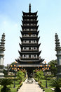 Zhen gu ancient temple, tower China Stock Photos