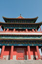 Zhengyangmen gate gatehouse commonly know as qianmen in dongcheng district beijing china Stock Photo