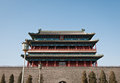 Zhengyangmen gate gatehouse commonly know as qianmen in dongcheng district beijing china Stock Photos