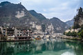 Zhenyuan the ancient town of in guizhou province Stock Photography