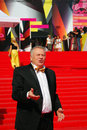 Zhirinovsky at moscow film festival politician vladimir xxxv international red carpet closing ceremony taken on in russia Stock Photos