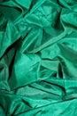 Zielony błyszczący jedwab Zdjęcia Royalty Free