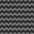 Zig zag chevron black and grey tile vector pattern