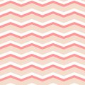 Zig zag chevron pink and white tile vector pattern