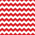 Zig zag chevron red and white tile pattern Royalty Free Stock Photo