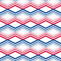 Zig zag geometric pattern vector retro style background colorful endless backdrop Stock Photo