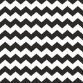 Zig zag vector chevron black and white tile pattern for seamless decoration wallpaper background Stock Photo