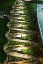 Zig zag walkway in chattanooga tennesse Stock Photos