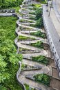 Zig Zag Walkway Royalty Free Stock Photo