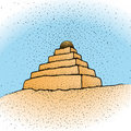 Ziggurat (vector) Royalty Free Stock Photography