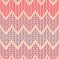 Zigzag abstract seamless pattern Royalty Free Stock Photography