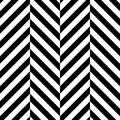 Zigzag chevron seamless pattern background. Alternate black and whitce color. Vector illustration