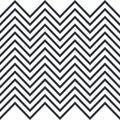 Zigzag. Horizontally seamless pattern for stripes